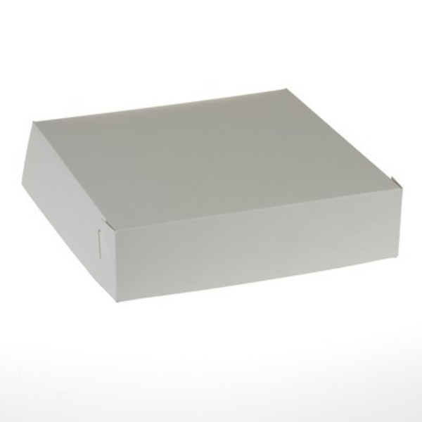 White Milk board Pastry Carton
