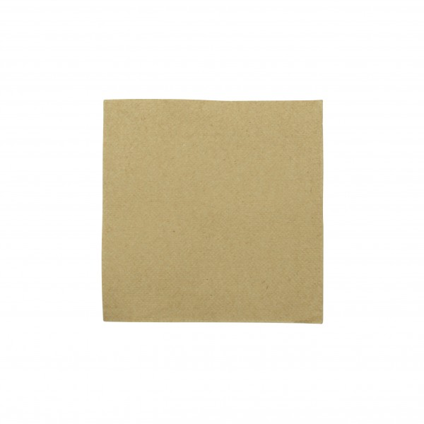 Kraft Quilted Paper Cocktail Napkins