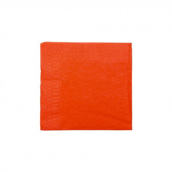 Red Tissue Cocktail Napkins