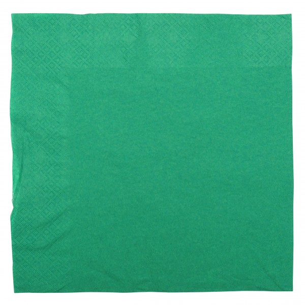 Dark Green 2 Ply Paper Dinner Napkins