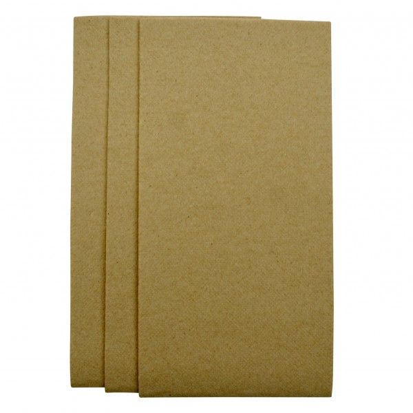 Kraft 2Ply Quilted GT Fold Dinner Napkins