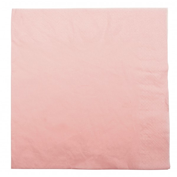 Light Pink 2 Ply Paper Dinner Napkins