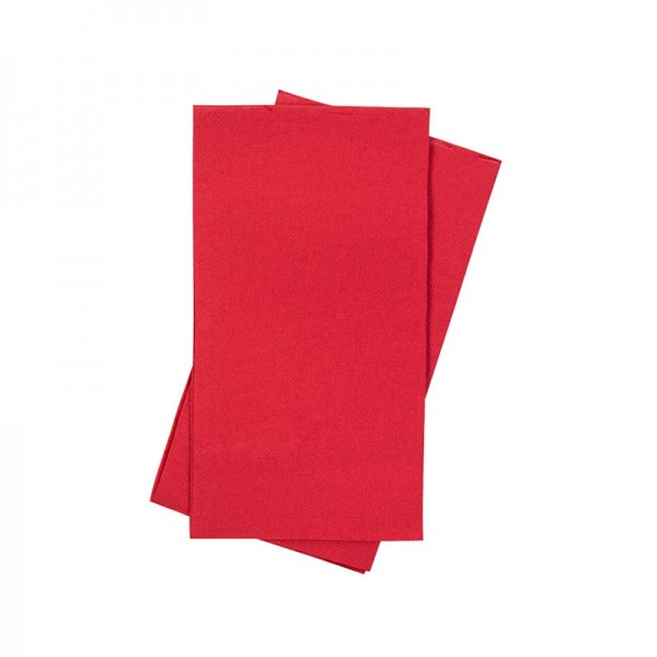 Red Premium Paper Dinner Napkins