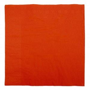 2 Ply × 400mm + 400mm | Red Tissue Paper Dinner Napkins