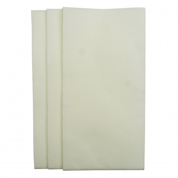 White 2Ply Quilted GT Fold Dinner Napkins