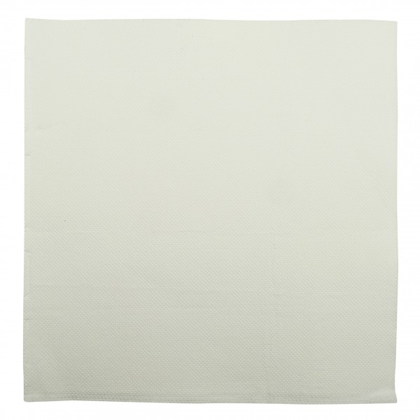 White 2 Ply Quilted Dinner Napkins