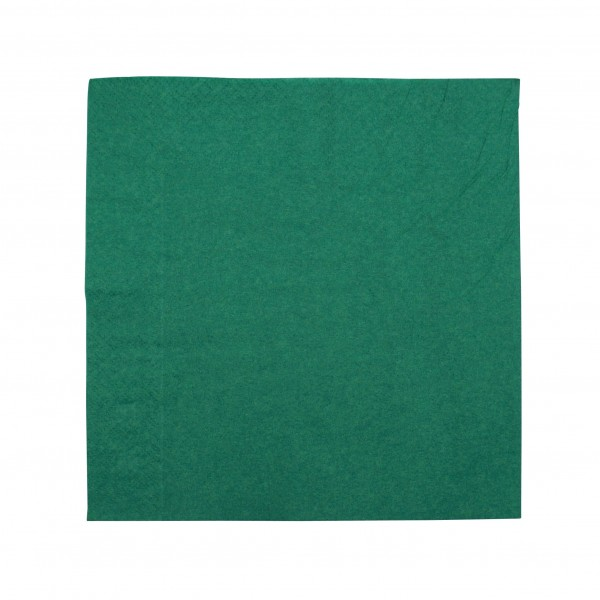 Bottle Green Paper Luncheon Napkins