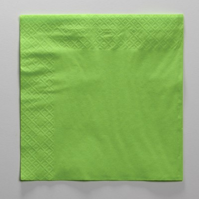 Lime Green Paper Luncheon Napkins