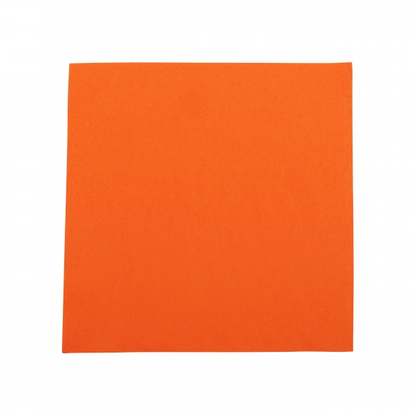 Orange Paper Luncheon Napkins