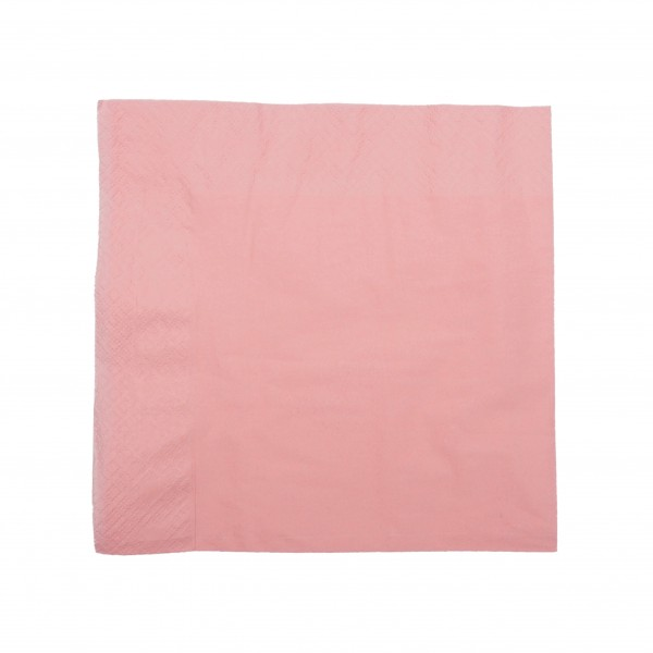 Sugar Pink 1 Ply Paper Luncheon Napkins