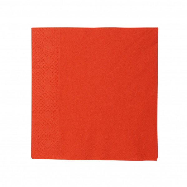 Red Paper Luncheon Napkins