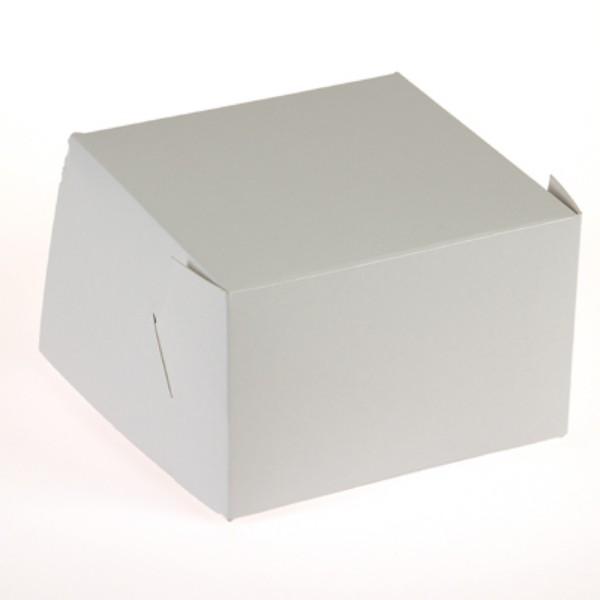 White Cardboard Pastry Cartons