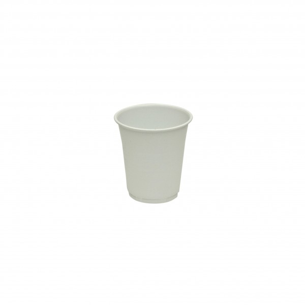 White Plastic Water CupS