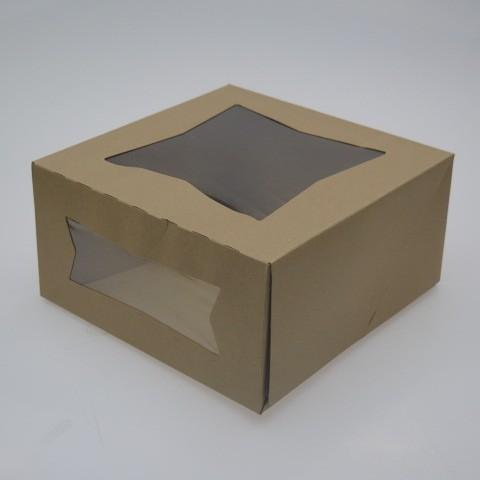 203mm 215 203mm 102mm Kraft Cardboard Window Bakery