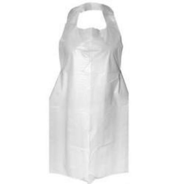 White Plastic Apron