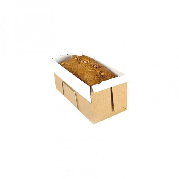 Non-Stick Bake & Serve Cardboard Loaf Trays
