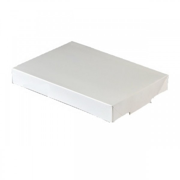White Cardboard Lid for: BAKE50, BAKE68 & BAKE73