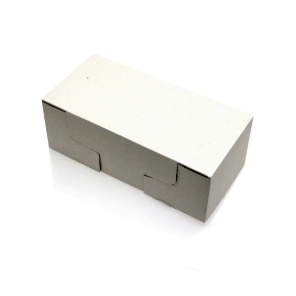 White Corrugated Lid for: BAKELOAFH