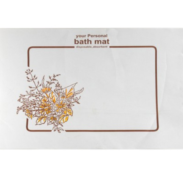 White Paper Bathmats