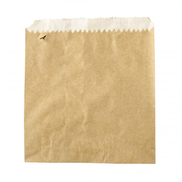 Brown Greaseproof Lined Paper Bags
