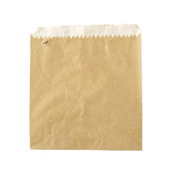 Brown Grease Proof Lined Paper Bags