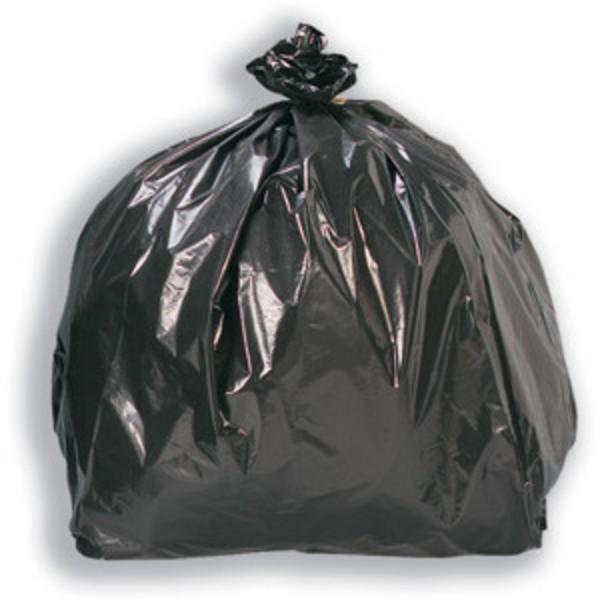 Black Plastic Bin Bags