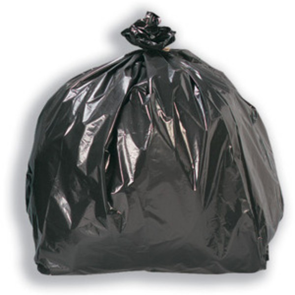 Black Biodegradable Plastic Heavy Duty Bin Bags