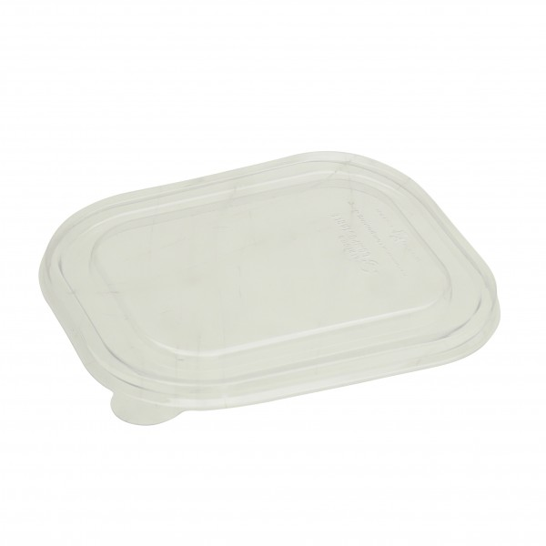 Transparent Corn Starch Bio Box Lids