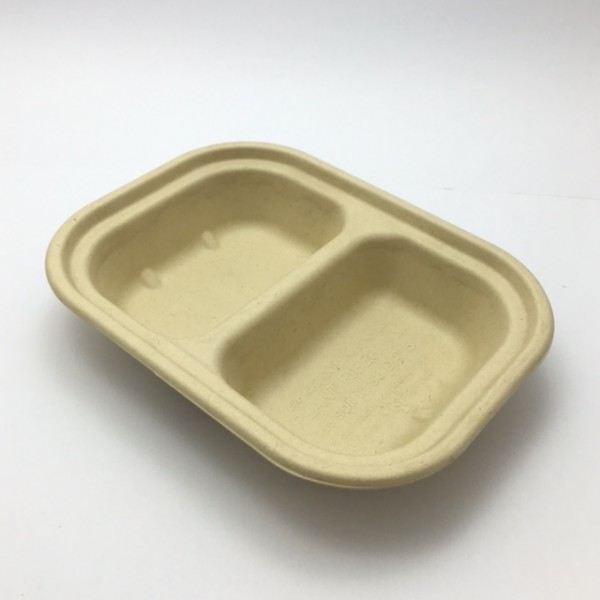 Kraft Compostable Fibre Board Takeaway Boxes