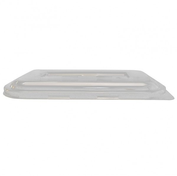 Clear RPET Rectangular Lids