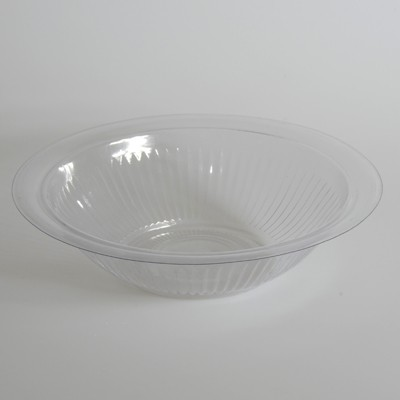 254mm | Clear Plastic Bowls