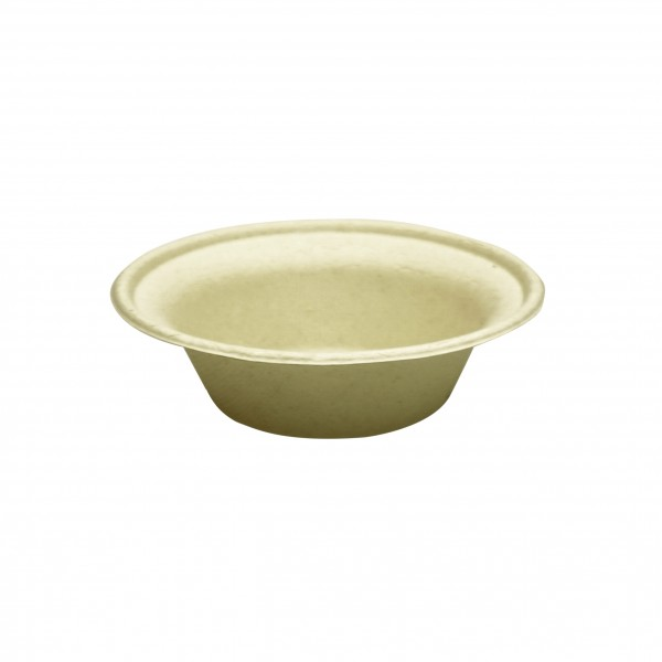 Kraft Compostable fibre board Bowls