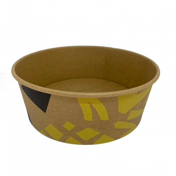 Kraft Printed Paper Salad Containers