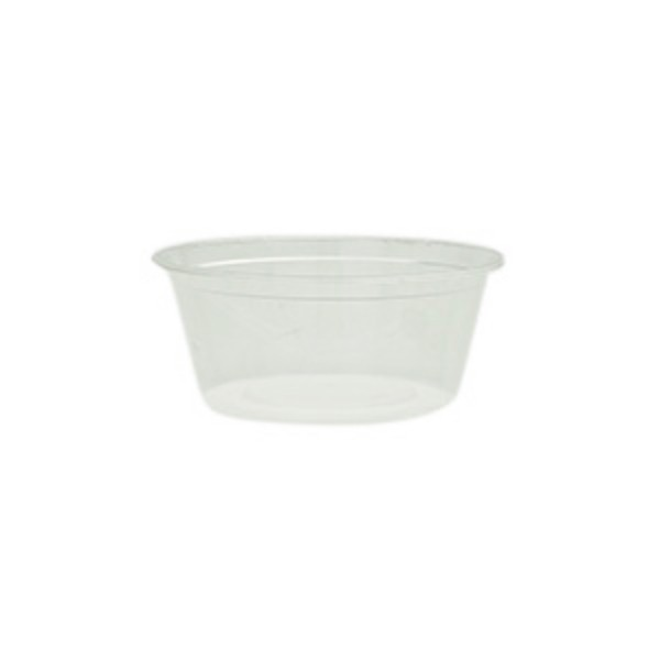 Translucent Plastic Freezer Grade Round Microwave Containers