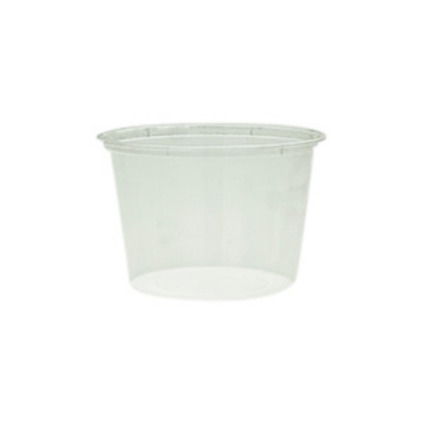 Freezer Grade Plastic Round Microwave Containers