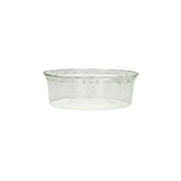 Clear Plastic Round Microwave Containers