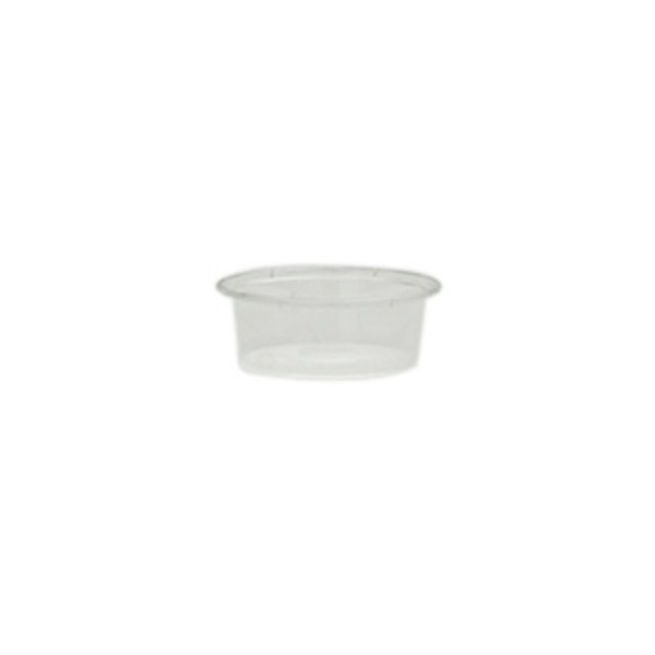 Clear Plastic Microwave Safe Portion Cups