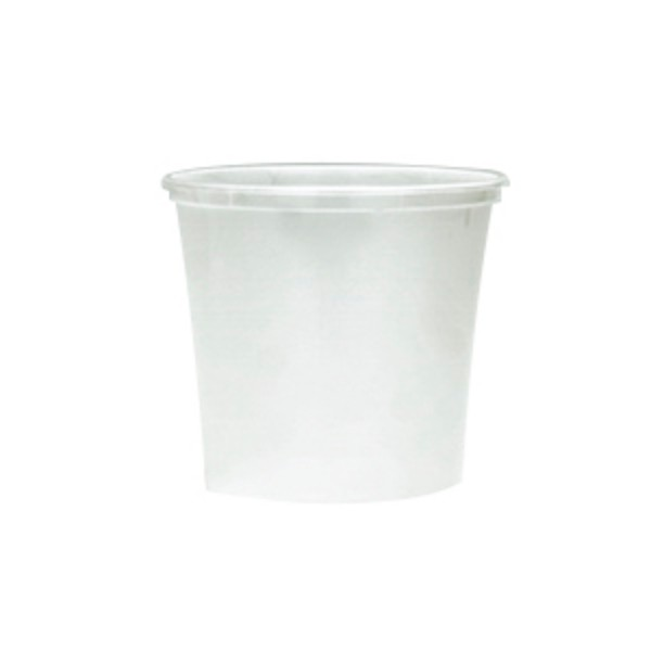 Clear Plastic Freezer Grade Oblong Containers