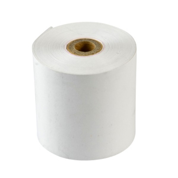 White Thermo Paper Cash Register Roll