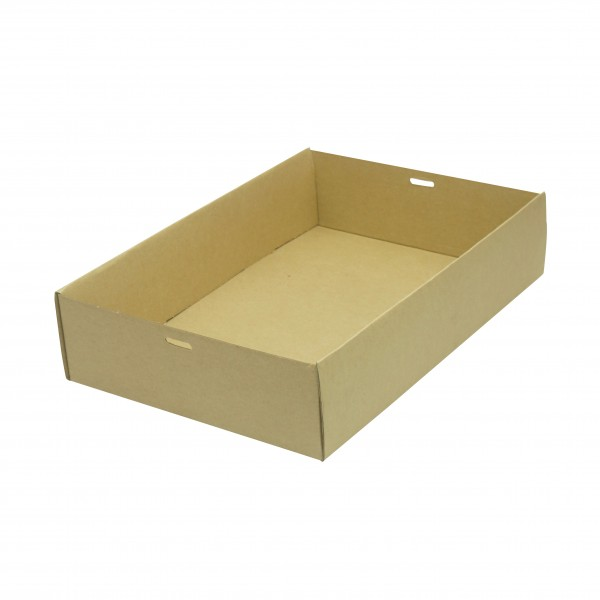 Brown/Kraft Cardboard Medium Cater Tray