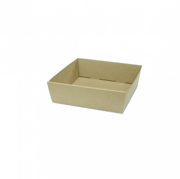 Kraft/ Brown Cardboard Small catering box for transport
