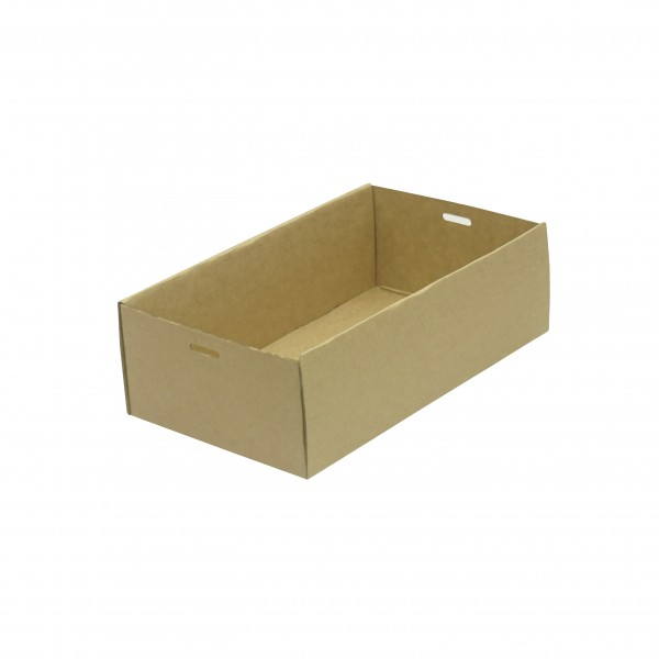 Kraft/Brown Cardboard Small catering box for transport