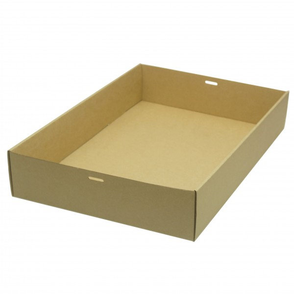 Brown/Kraft Cardboard Extra Large Cater Trays
