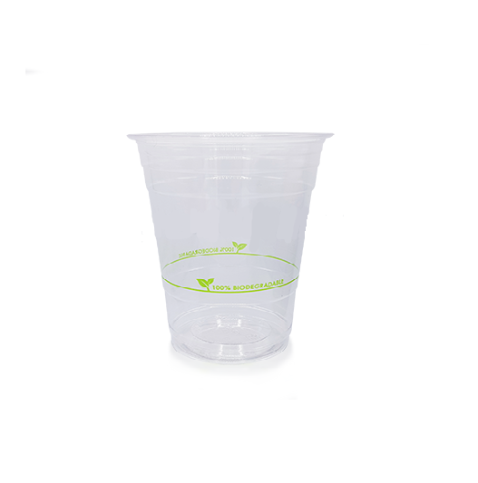 Clear PLA Plastic Compostable Cups