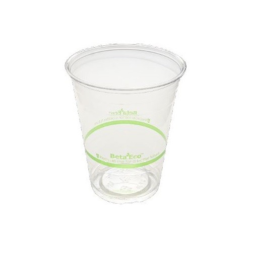 Clear 40% Recycled Content PET Plastic Juice Cups