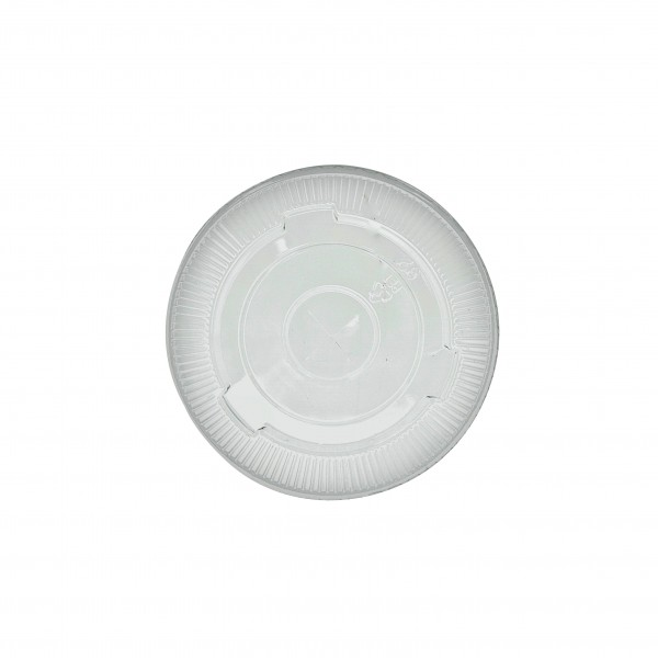 Clear PET Plastic Lid with strawslot for: CDL16C, TP16ECO, TP24, SD12