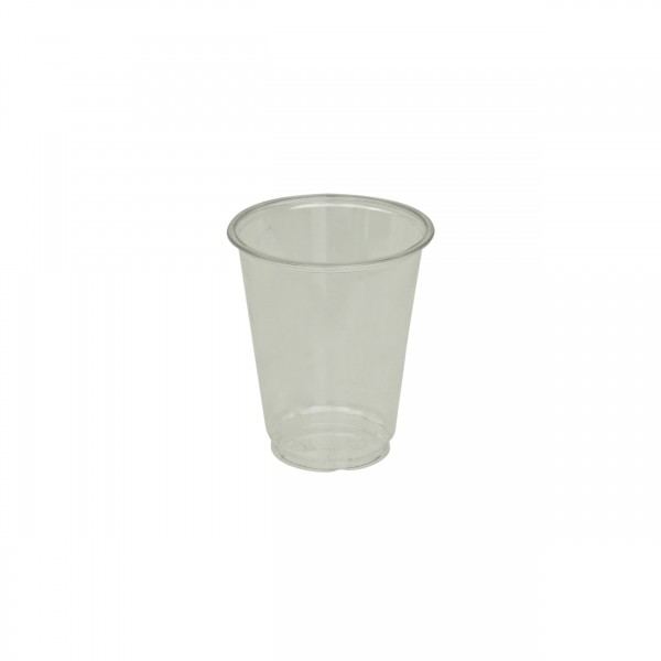Clear Recyclable PET Plastic Cups