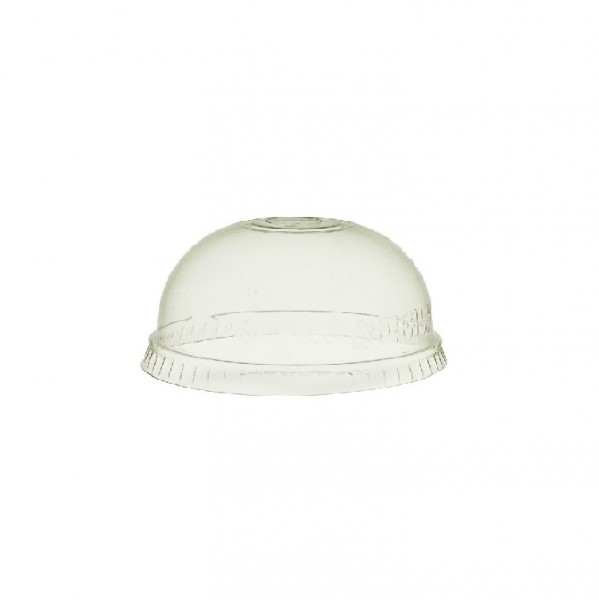 Clear PLA Plastic Compostable Dome Lids