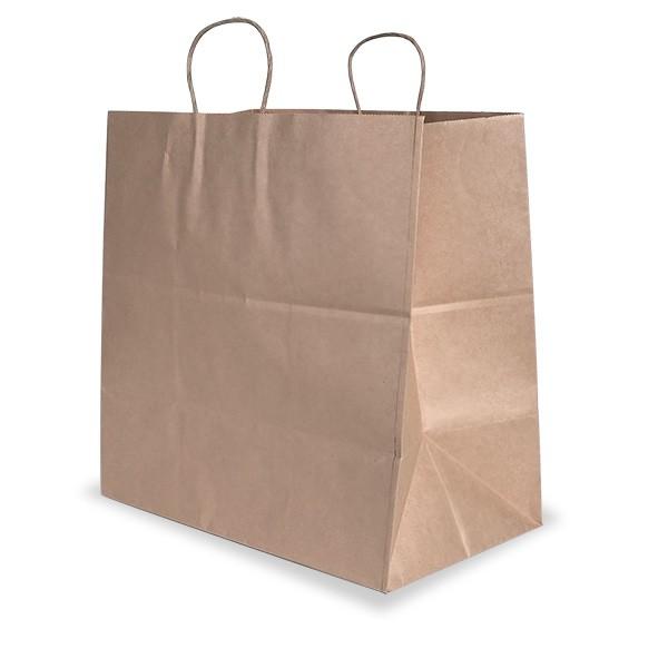 Brown Kraft Paper Jumbo Carry Bags