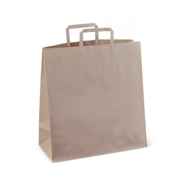 Brown Paper Checkout Bags